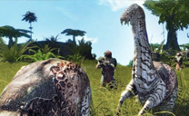 Hunting creatures in Entropia Universe