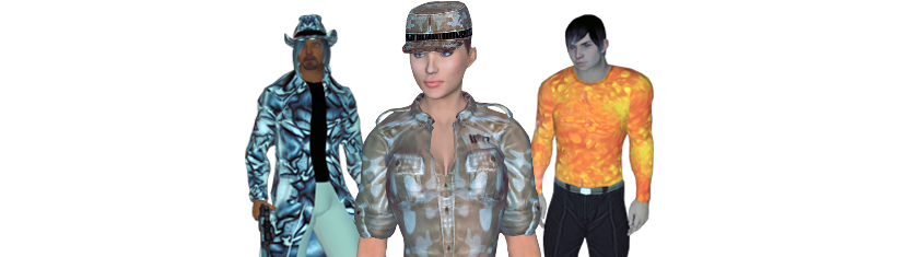 virtual world avatars